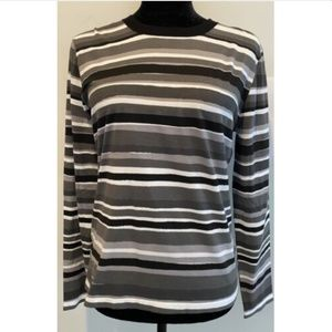 MICHAEL KORS COLLECTION striped top